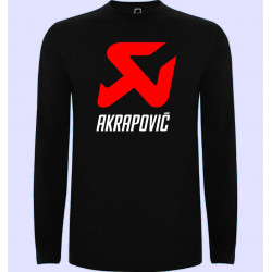 CAMISETA ML AKRAPOVIC