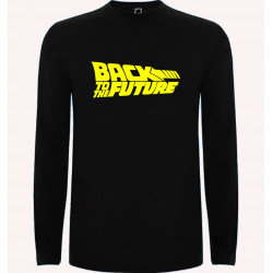 CAMISETA ML BACK TO THE FUTURE