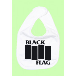 BABERO BLACK FLAG BLANCO