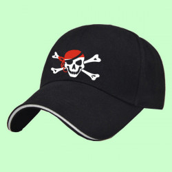 GORRA BORDADA PIRATA