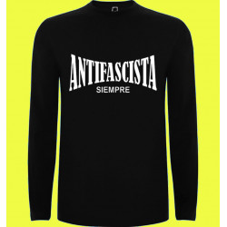 CAMISETA ML ANTIFASCISTA