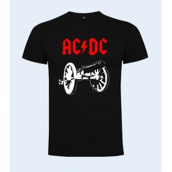 CAMISETA NIÑO AC/DC CAÑÓN