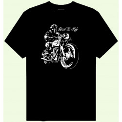 CAMISETA BORN TO RIDE