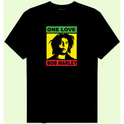 CAMISETA BOB MARLEY ONE LOVE